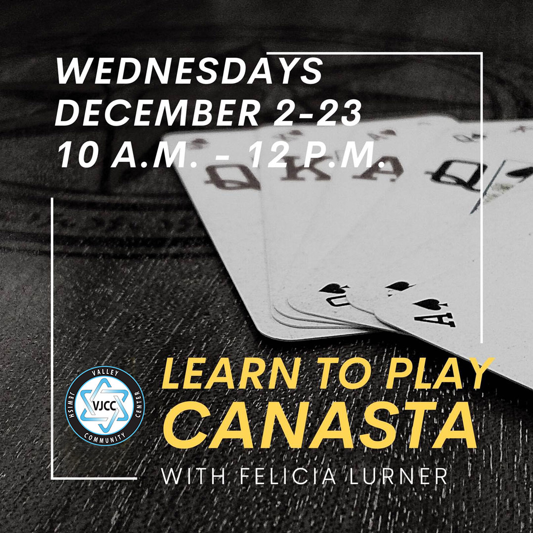 Canasta: Learn to Play - Partnership with Merage JCC